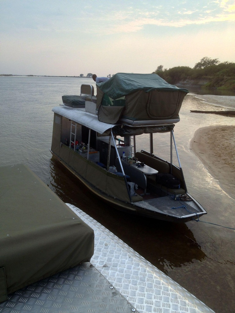 Zambezi Houseboat Accommodation In Caprivi Namibia